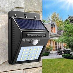 Lampe solaire capteur de mouvements