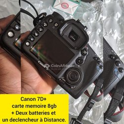 Canon 7D + carte mémoire 8Gb