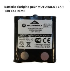 Batterie Talkies walkies Motorola TLKR T50, T80