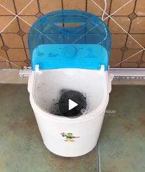 Mini machine à laver linge