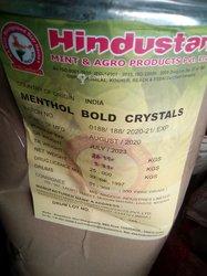 Menthol bold crystals 25kgs