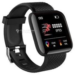 Montre connectée imperméable fréquence cardiaque Android ios
