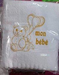 Serviette bébé en coton