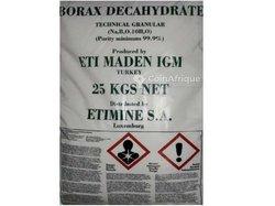 Borax deca-hydrate 25 kgs