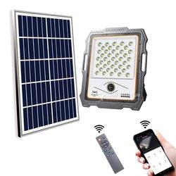 Lampadaire solaire 200w - caméra intégrée