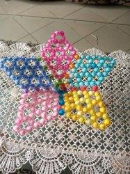 Etoile tricoté