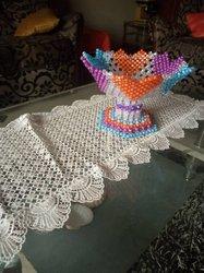 Pot de fleur tricoté