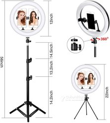 Tige Selfie Ring Light