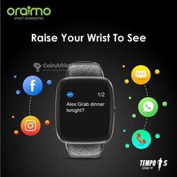 Smart Watch  Oraimo Tempo S