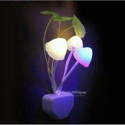 Veilleuses en fleurs électrique
