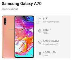 Samsung Galaxy A70 - 128Gb