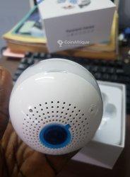 Ampoule caméra de surveillance avec alarme - détection de mouvement