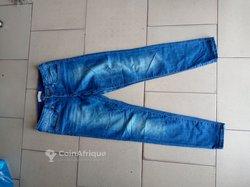 Pantalon jeans friperie