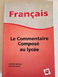 Fascicule de français terminale