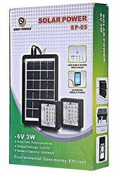 kit d'éclairage solaire