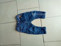 Pantalon jeans enfants