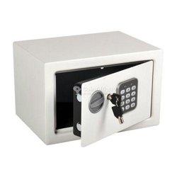 Mini coffre fort numérique blanc