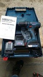 Perceuse visseuse rechargeable Bosch