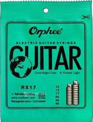Cordes 010 guitare électrique