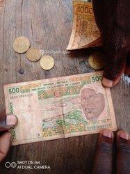 Ancien billet de 500f