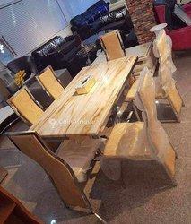 Table à manger 6 chaises en marbre