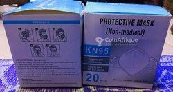Cache nez KN95