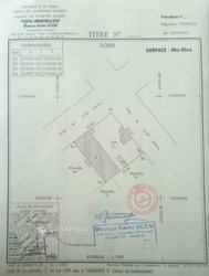 Vente Terrain 605 m² - Cadjehoun Cotonou