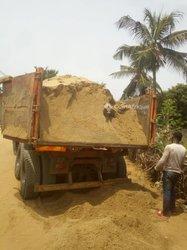 Ciment - gravier concassé - sable