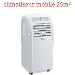 Climatiseur mobile 25m²
