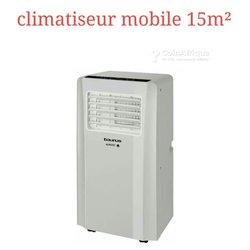 Climatiseur portable 15m²