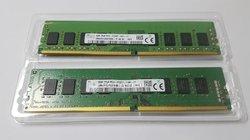 Barrettes ram DDR4  8Gb