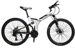 "Vélo VTT 26"" pliable avec amortisseur"