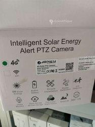 Caméra de vidéosurveillance solaire à batterie