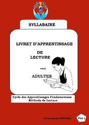 Livret d'apprentissage de la lecture