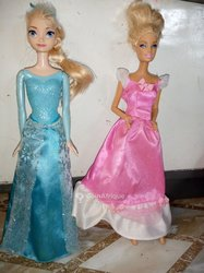 Dinette Barbie Frozen