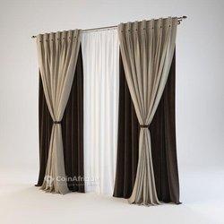 Décoration rideau