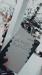 Livre - La page blanche