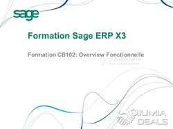 Formation sage X3 et X3 people