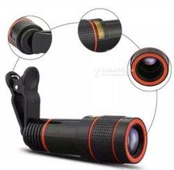 Objectif télescope zoom × 12 pour smartphone et appareil photo