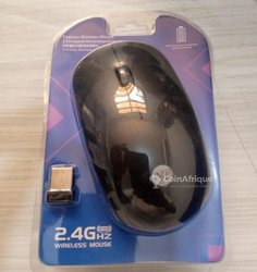 Souris sans fil rechargeable