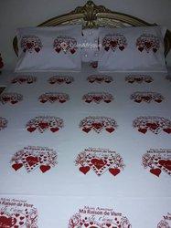 Personnalisation des draps de lit
