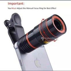 Objectif télescope zoom fois 12 pour smartphone et appareil photo