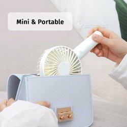 Mini ventilateur chargeable