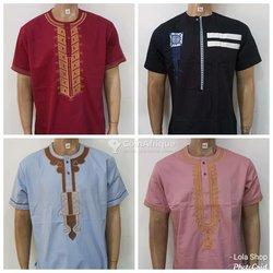 Chemises brodées