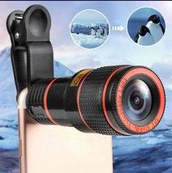 Zoom télescope téléobjectif pour smartphone