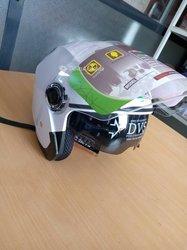 Casque Helmet double visière