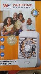 Ventilateur chargeable à main