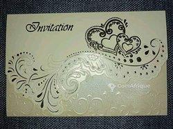 Conception carte d'invitation