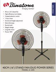 Ventilateur Binatone 1695 - télécommande