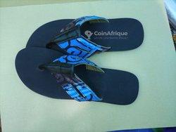 Sandales en pagne